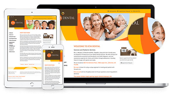 Dental Responsive Web Design