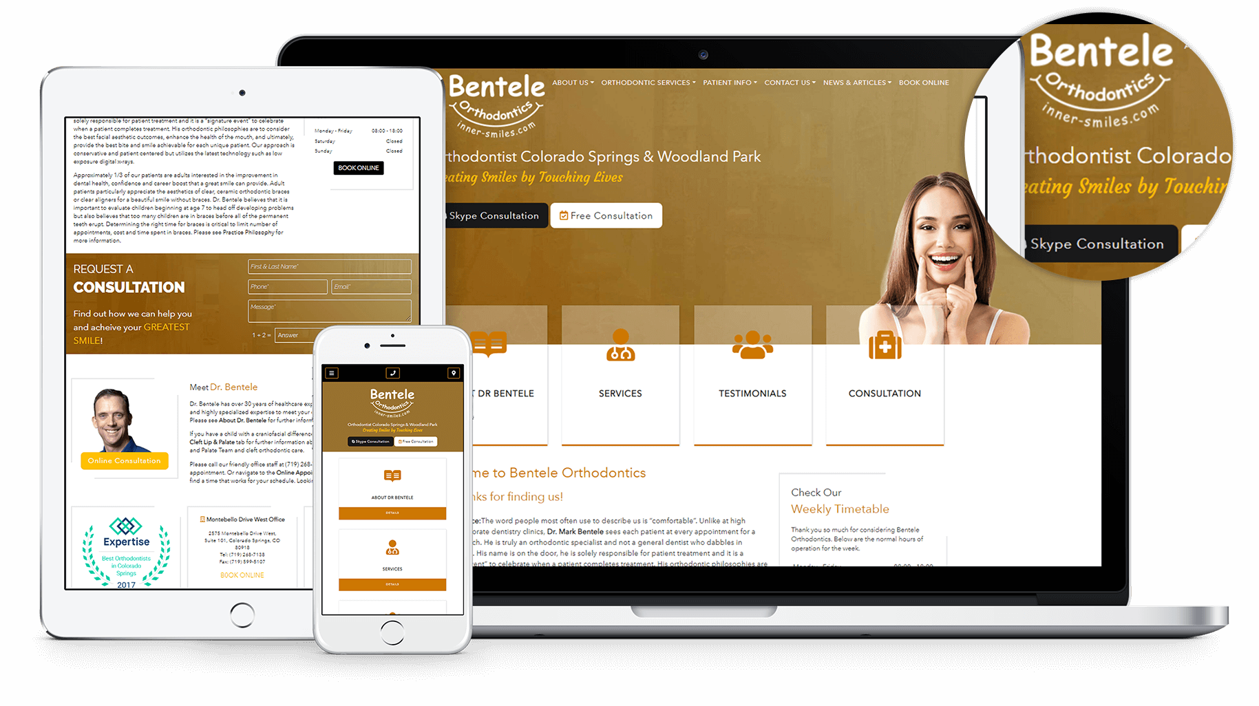 New Website for Bentele Orthodontics