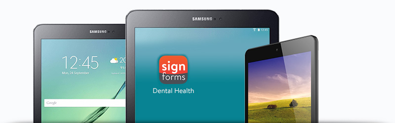 New Patient Forms on Android Tablets