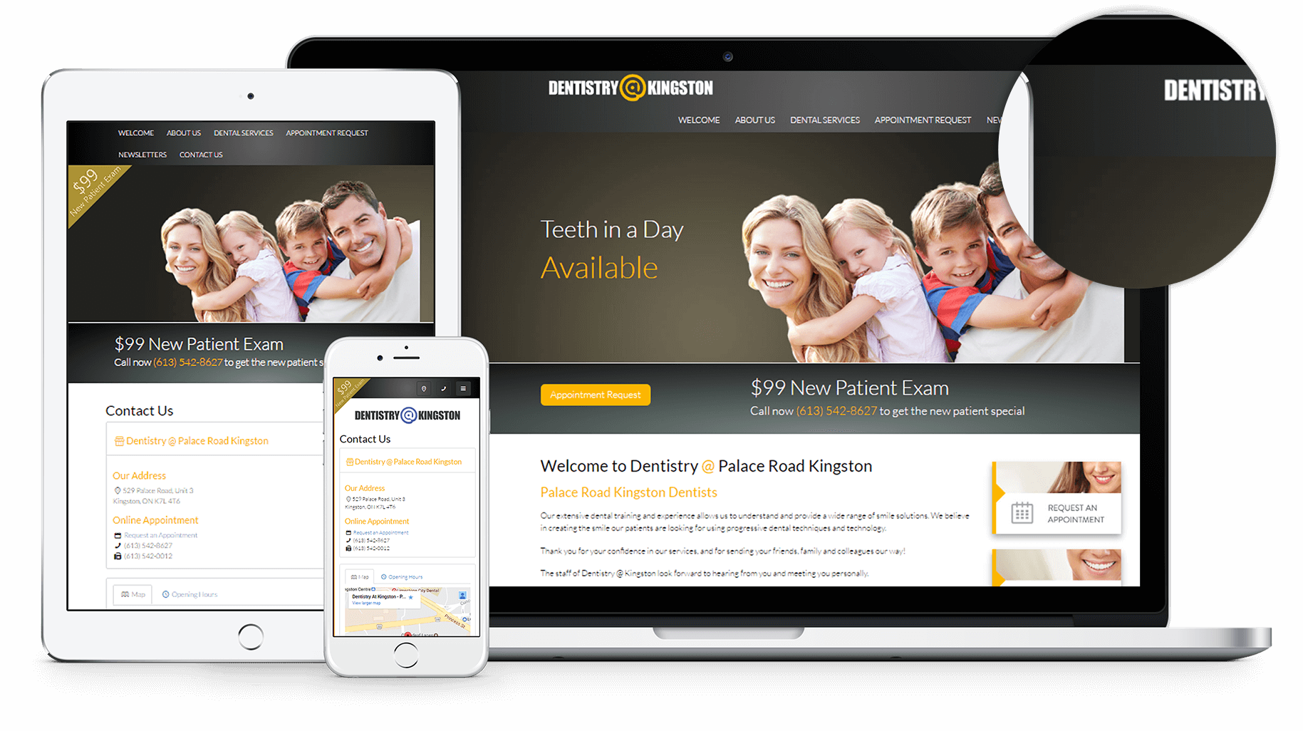 New Website for Dentistry at Kingston