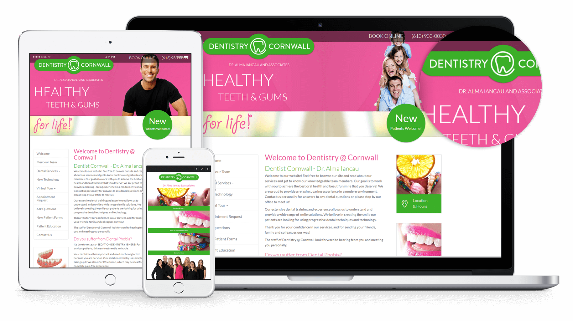 New Website for Dentistry at Cornwall