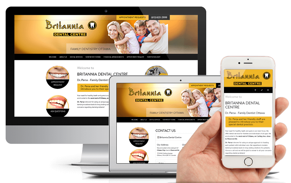 New Website for Britannia Dental Centre