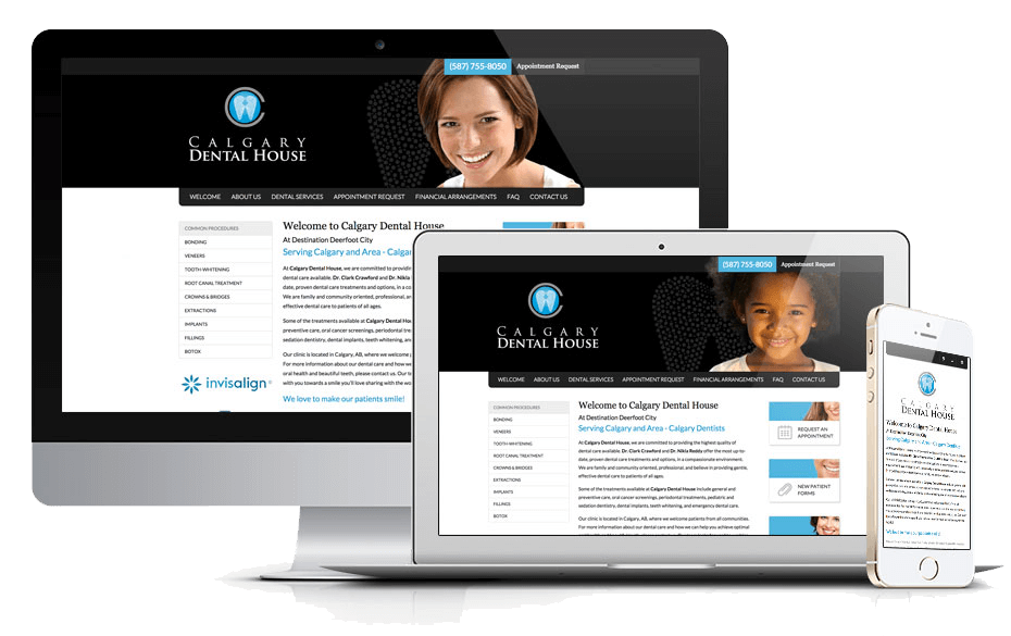 New Website Launch for Calgary Dental House