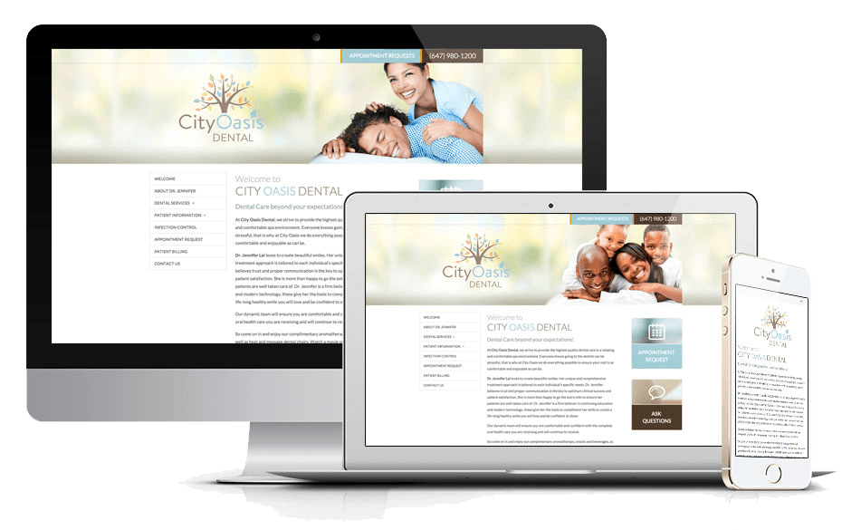 Announcing the Launch of New Website for CityOasis Dental