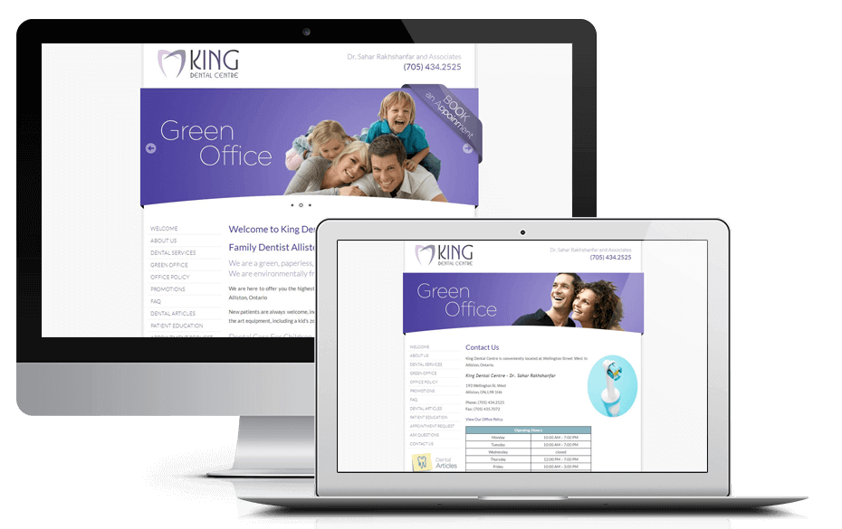 New Website for King Dental Centre