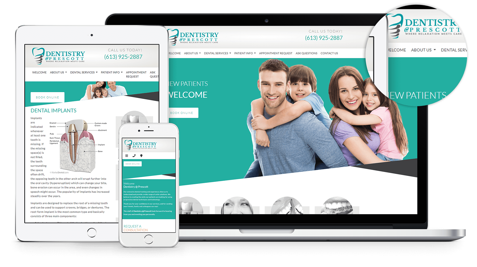 New Website for Dentistry at Prescott