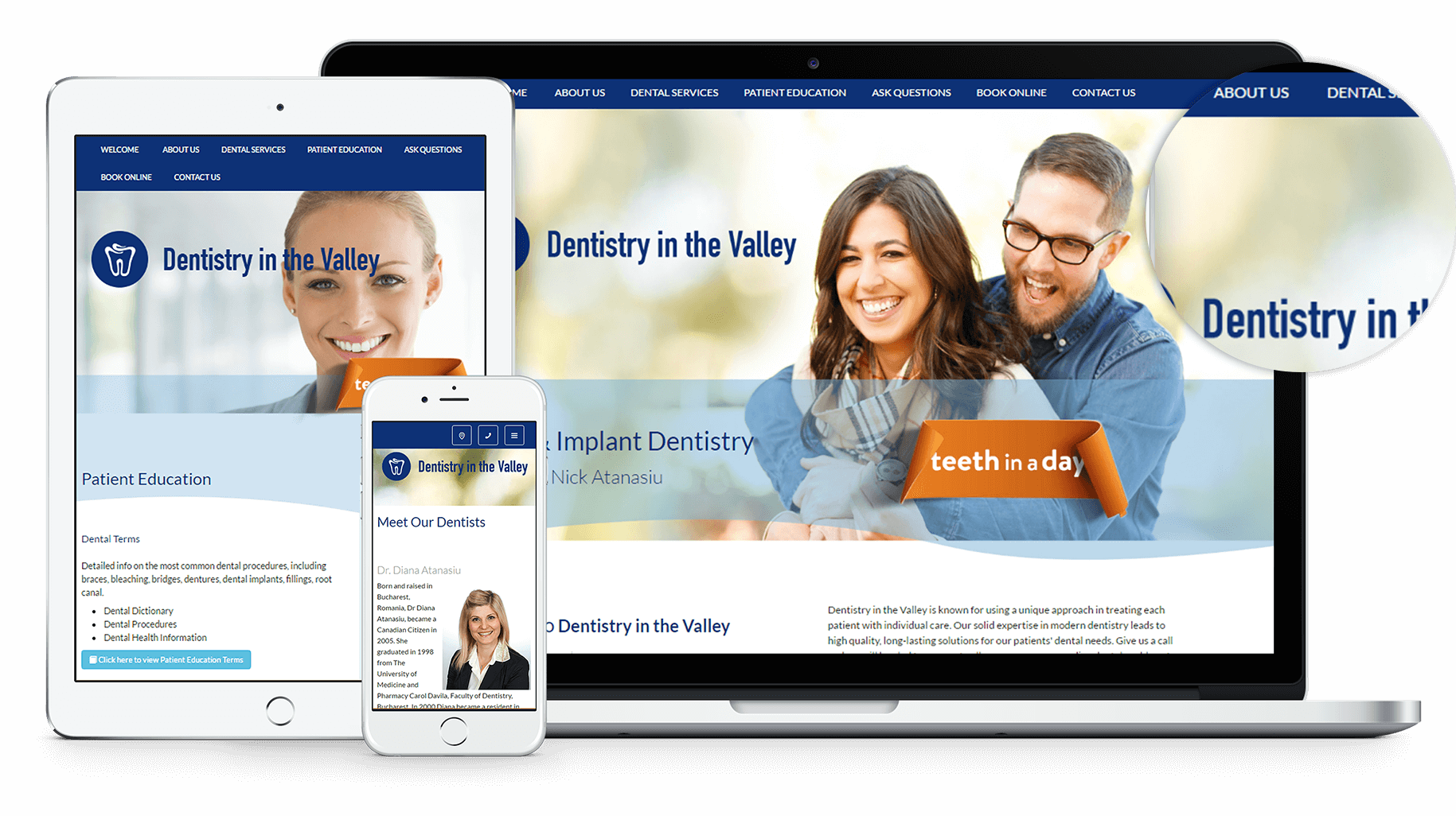 New Website for Dentistry in the Valley