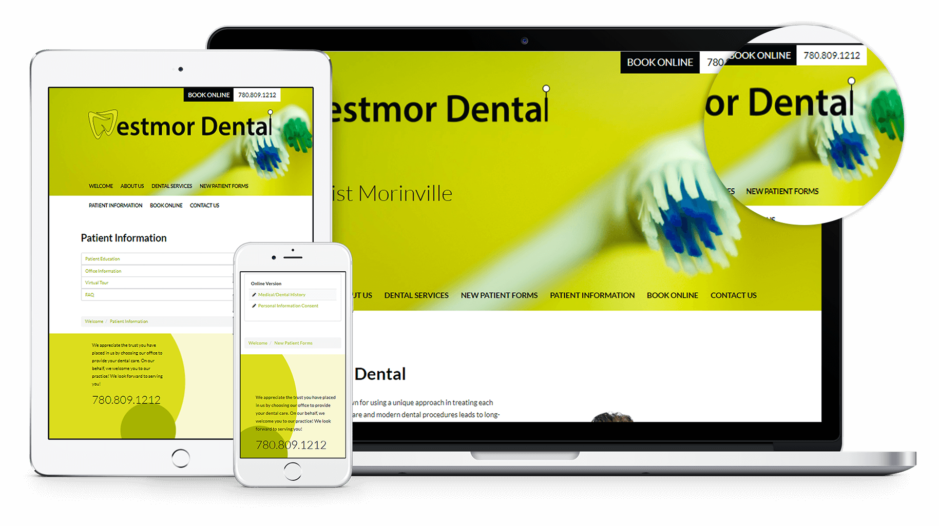 New Website for Westmor Dental